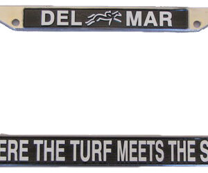 Del Mar License Plate Frame