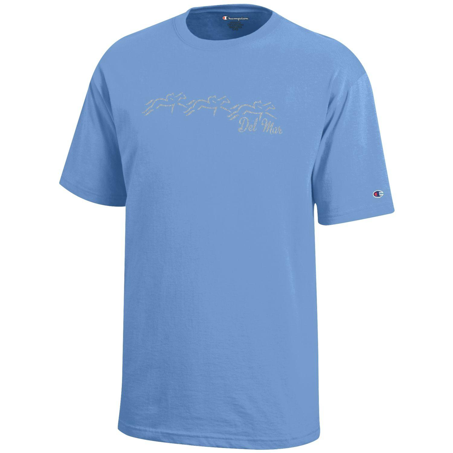 Youth Girls Tee-Lt. Blue
