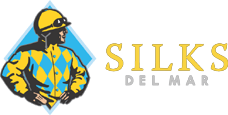 silks del mar gold logo