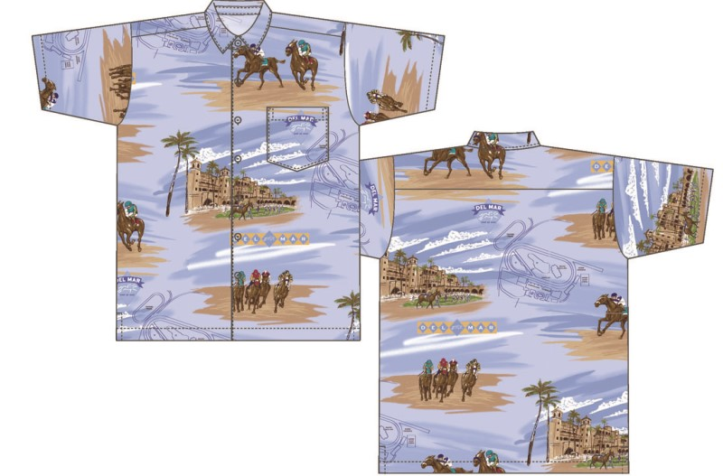 2016 Del Mar Kahala Signature Shirt