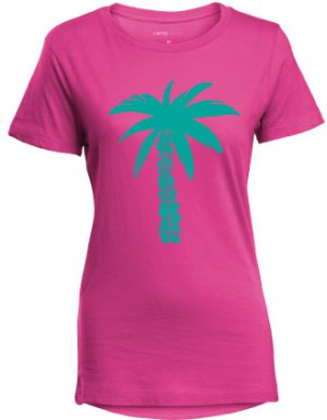 Ladies Palm Tree Tee